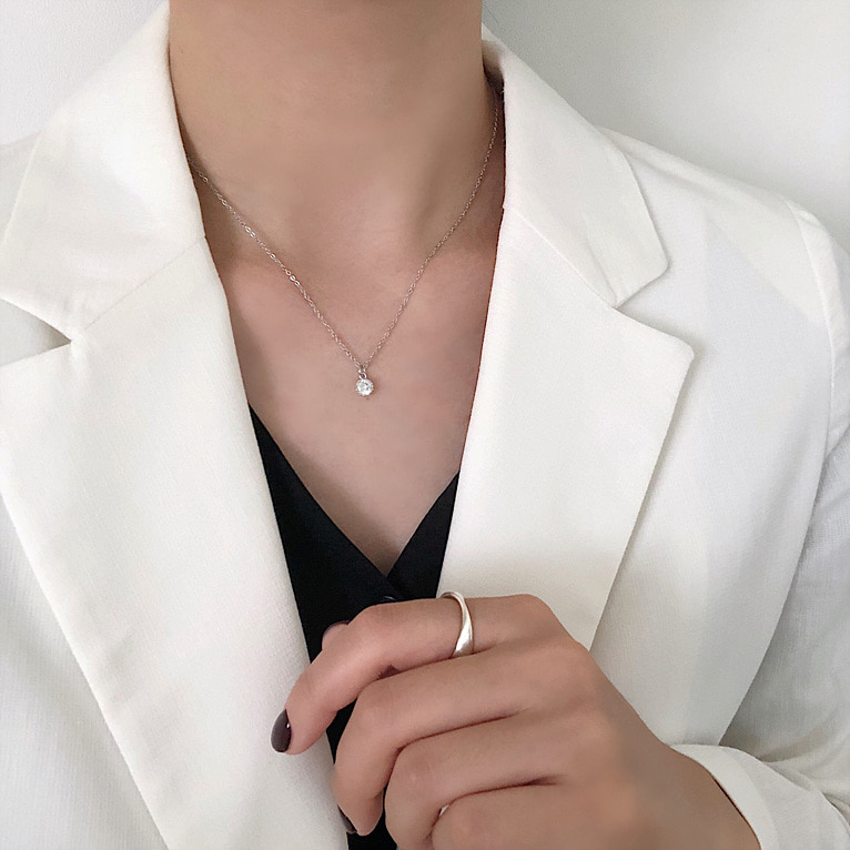 (실버 입고!) surgical coin necklace 11