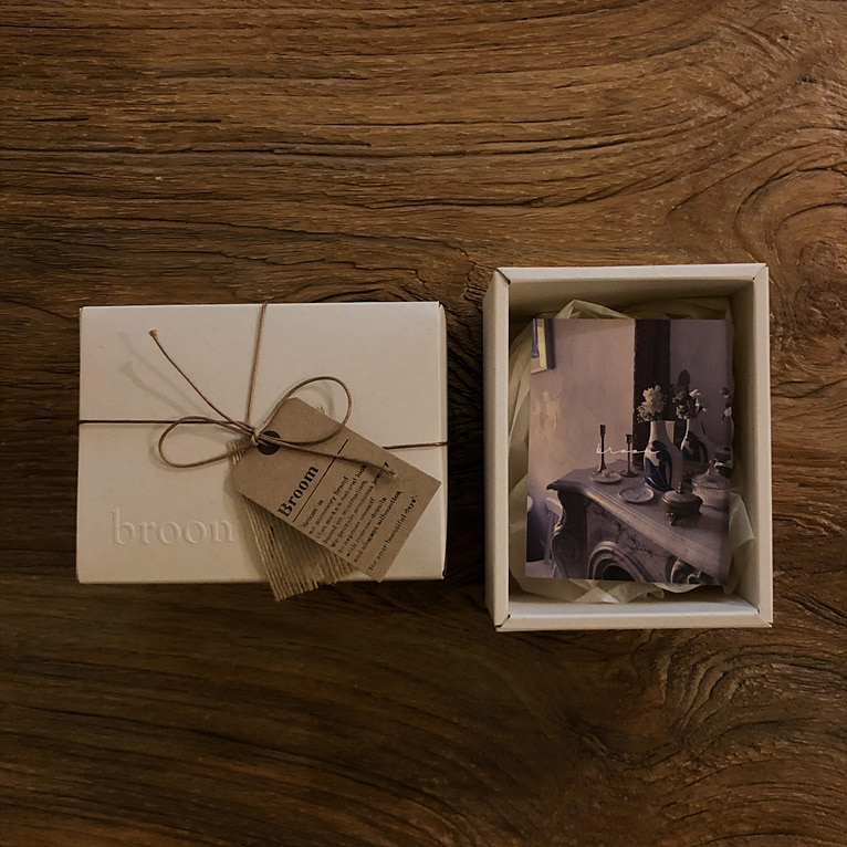 broom gift box(2type)